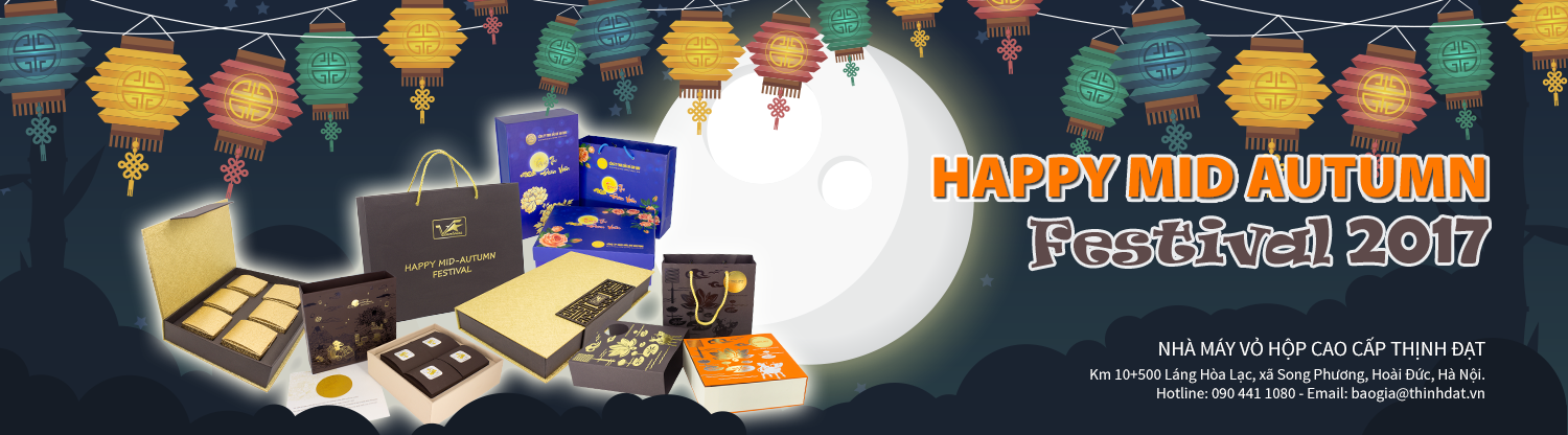 Banner Happy Mid Autumn Festival 2017