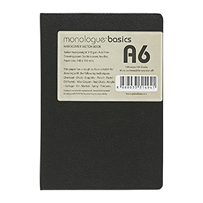 Sổ phác họa Monologue Basics Hardcover Sketch Book A6